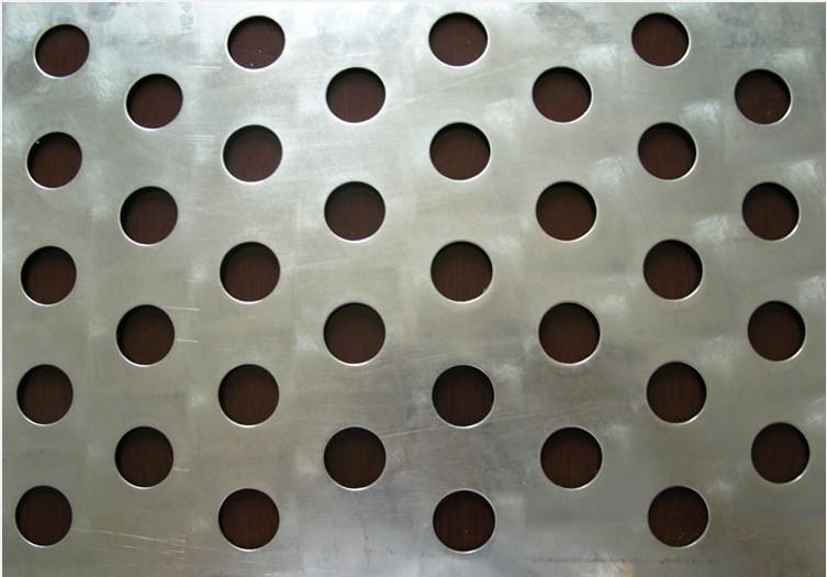 激光切割机加工冲孔网