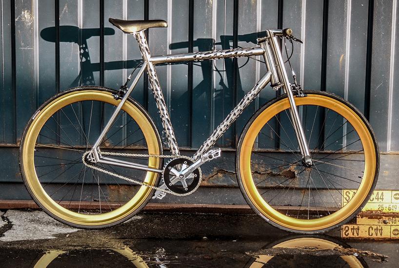 自行车结构名称图解